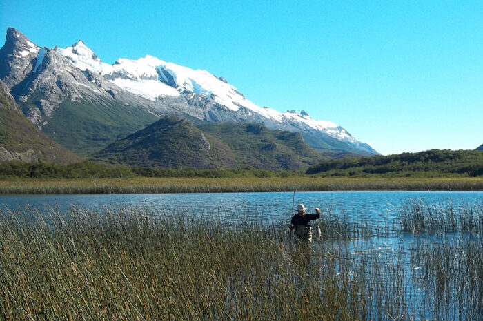 pesca truchas en El Chalten