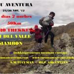 Trekking en Tucumán desde Tafí del Valle