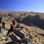Trekking a Pueblo Escondido, Merlo San Luis Enero 10,11 y 12  - 2015